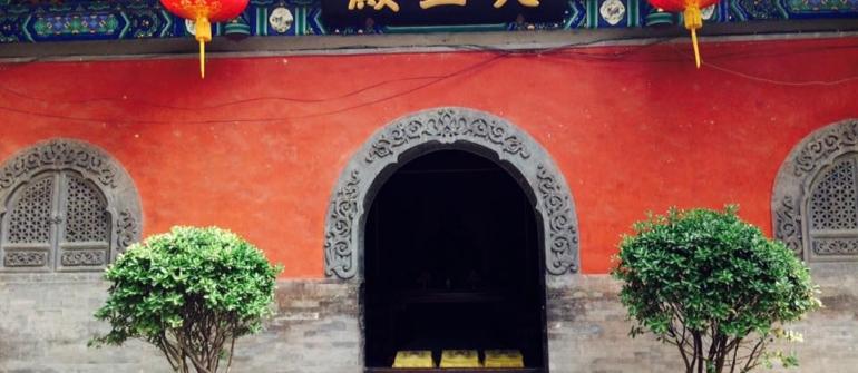 KLÁŠTER FA YUAN SI V PEKINGU (ČÍNA)