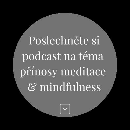 Podcast NAPLNO - Přínosy meditace a mindfulness s Šárkou Koliášovou