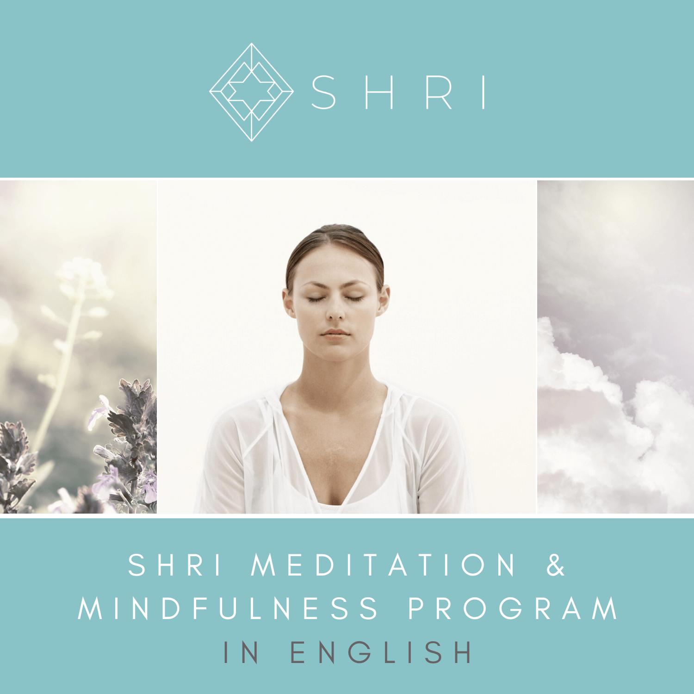SHRI Meditation & Mindfulness course in English in Prague